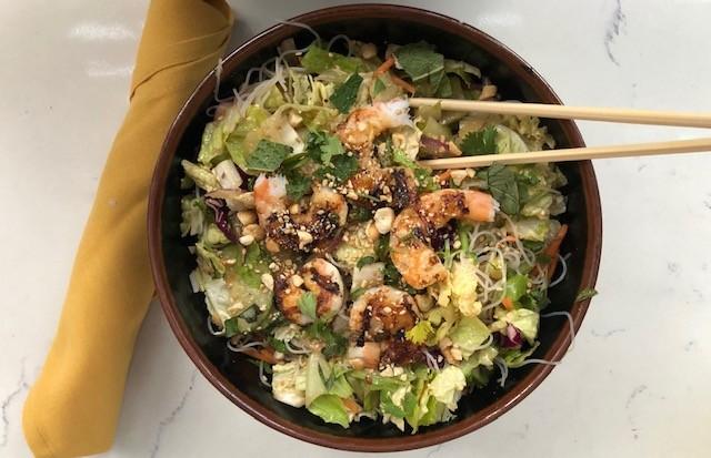 Noodle Salad w/ Shrimp