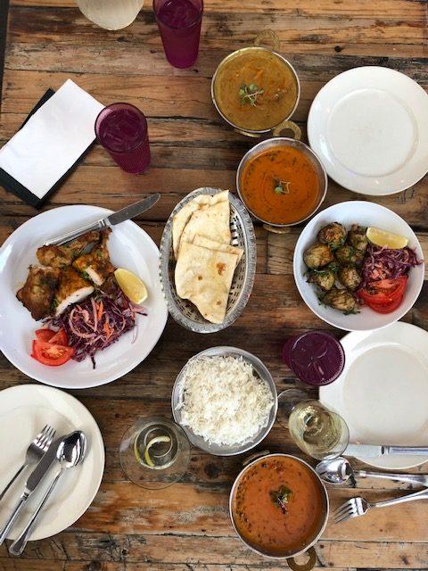 G'Raj Mahal Food