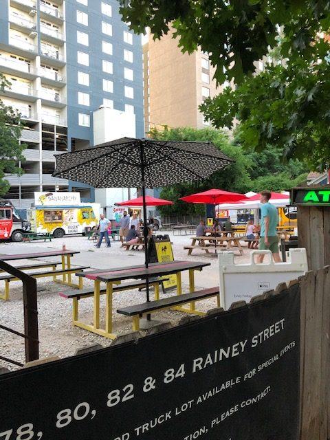 80 Rainey Street Food Truck Lot