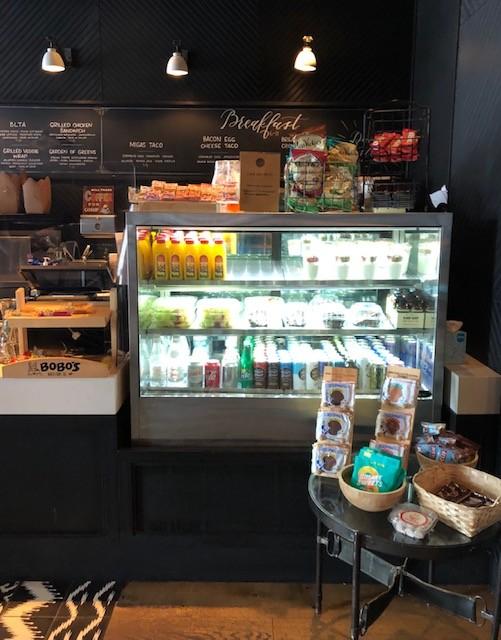Ordering at Café 605