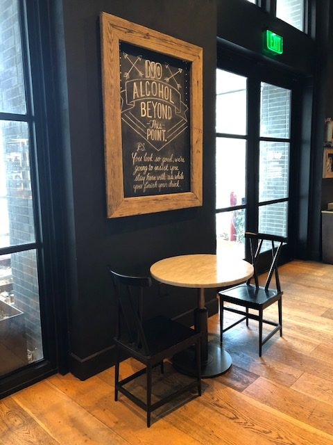 Inside Café 605