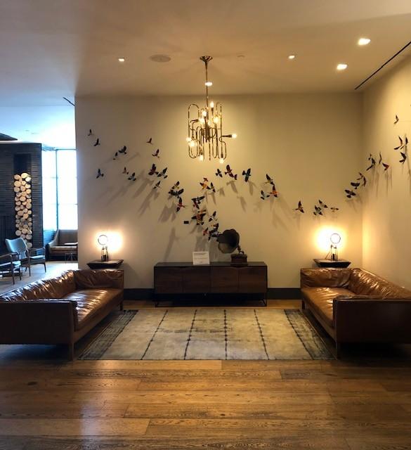 Inside Hotel Van Zandt